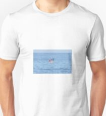 Diving flippers in Weekapaug, RI T-Shirt