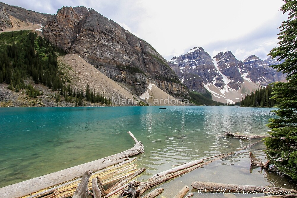 Moraine Lake by Marie  Cardona