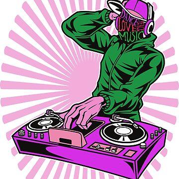 DJ music party celebration by TundCDesign
