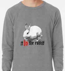 Was hinter dem Kaninchen? Leichtes Sweatshirt