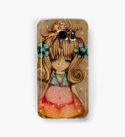 The Girl and the Octopus Samsung Galaxy Case/Skin