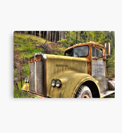 old KW near Ashland Or. Canvas Print