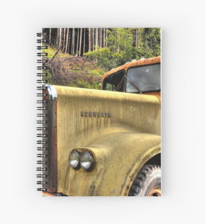 old KW near Ashland Or. Spiral Notebook