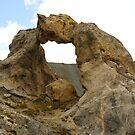 Natural arch - Laghi di Vens by Bru66