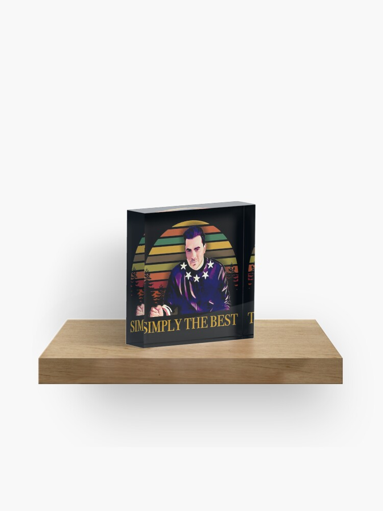 Schitt's Creek David - Simply The Best | Acrylic Block