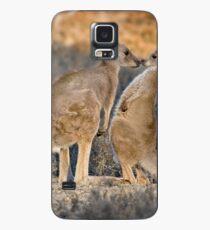 Kissing Kangaroos Case/Skin for Samsung Galaxy