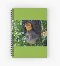 Batzilla - Adorable Flying Fox Spiral Notebook