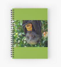Cuaderno de espiral Batzilla - adorable zorro volador