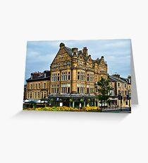 Bettys Cafe Tea Rooms, Harrogate, Yorkshire, UK. Greeting Card