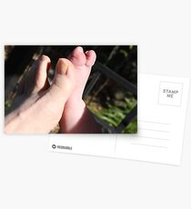 Toes Postcards