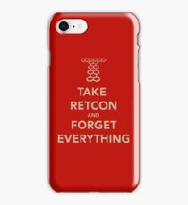 Take Retcon iPhone Case/Skin