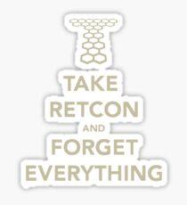 Take Retcon Sticker