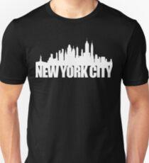 NYC Skyline - white T-Shirt