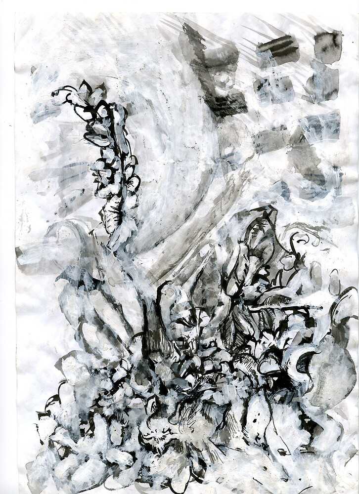 inkdrawing.flowers by ls-berlin