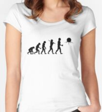 Full Evolution: Toclafane! Women's Fitted Scoop T-Shirt