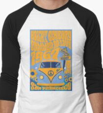 Haight Ashbury Summer Of Love Men's Baseball ¾ T-Shirt