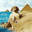 Giza Beach by EyeMagined