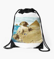 Giza Beach Drawstring Bag