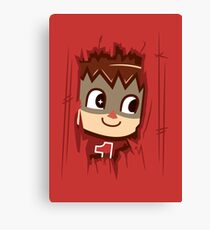 Heeeeere's.... the Villager Canvas Print
