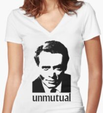Unmutual Women's Fitted V-Neck T-Shirt