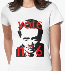Vote #6 Women's Fitted T-Shirt