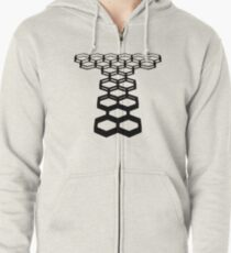Outside the Government Beyond the Police Zipped Hoodie