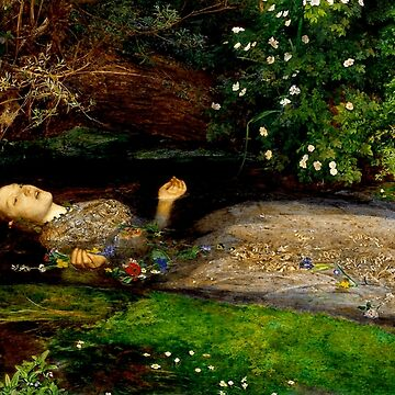 "John Everett Millais ""Ophelia"" by ALD1"