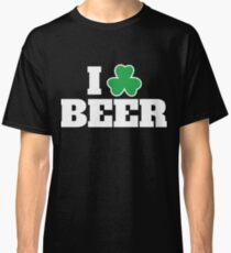 Beer Funny Pun St Patricks Day Apparel Classic T-Shirt