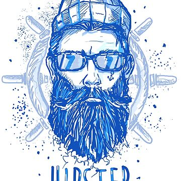 hipster sailor man by fer3407xzhtvz8