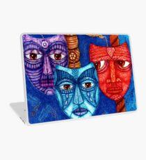 The sadness, the mistrust and the fatigue    Laptop Skin