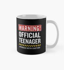 Offizieller Jugendlicher 13 Jahre altes lustiges jugendlich 13. Geburtstags-Geschenk Tasse (Standard)