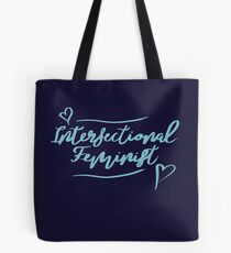 intersektionale Feministin Tote Bag