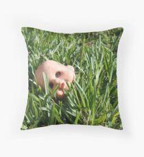 Athazagoraphobia Throw Pillow