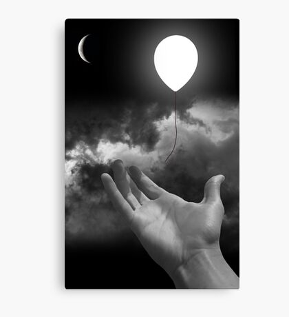 Black & White Collection -- Serenity Canvas Print