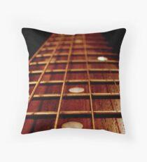 Musical Road. Throw Pillow