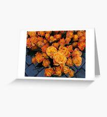 Sea of Roses 2 Greeting Card
