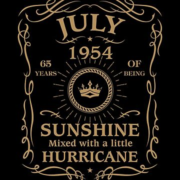 July 1954 Sunshine Mixed With A Little Hurricane by lavatarnt
