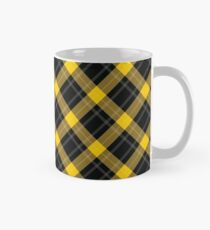 Yellow Plaid Classic Mug