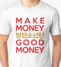 BTS/Bangtan Boys 'N.O' lyrics T-Shirt