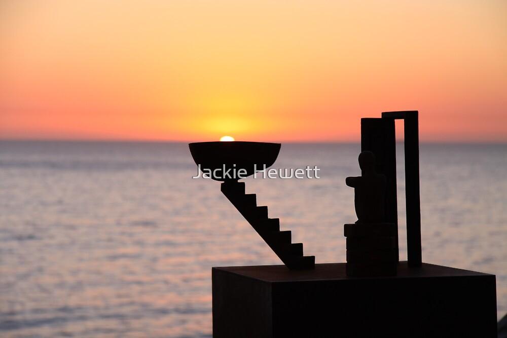 Sunrise - Bondi Beach, Australia by Jackie Hewett
