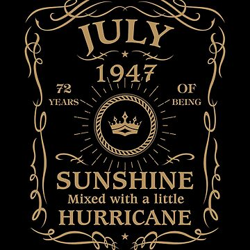 July 1947 Sunshine Mixed With A Little Hurricane by lavatarnt