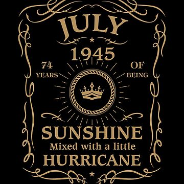 July 1945 Sunshine Mixed With A Little Hurricane by lavatarnt