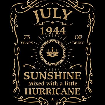 July 1944 Sunshine Mixed With A Little Hurricane by lavatarnt