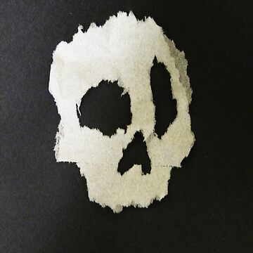 #2 toilet paper skull by EDLFDESIGNS