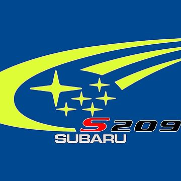 S209 Subaru Colors Logo by roccoyou