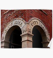 Wabasha City Hall Poster