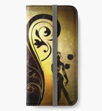 Gold gymnast iPhone Wallet/Case/Skin