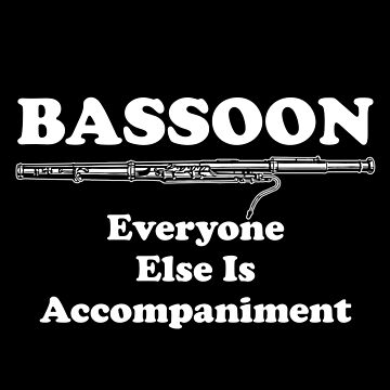 Bassoon accompaniment by GeschenkIdee
