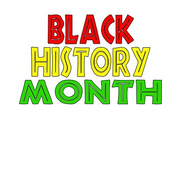 Red Yellow Green Black History Month Gifts by galleryOne