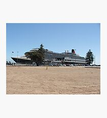 Queen Victoria Cruise Liner Photographic Print